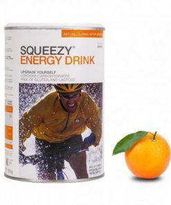 SQUEEZY Napój energetyczny 500 g Pomarańczowy