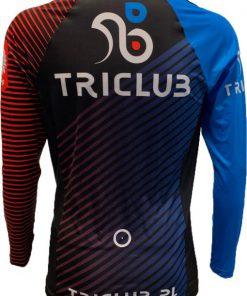 TRICLUB Koszulka biegowa długi rękaw