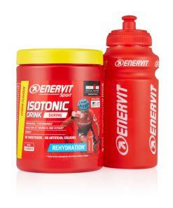 ENERVIT Isotonic Drink 420 g cytrynowy + bidon 0,5 l