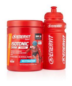 ENERVIT Isotonic Drink 420 g pomarańczowy + bidon 0,5 l