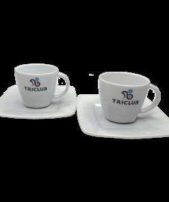 TRICLUB espresso - 2 filiżanki